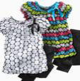 Huge variety of styles, sizes, and major name brands.  Closeouts on Top Quality Children's Apparel.